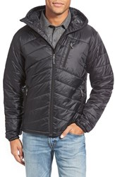 Men's Ibex 'Wool Aire' Recylcled Nylon Puffer Jacket Black