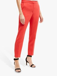 French Connection Ruth Tailored Trousers Fire Coral
