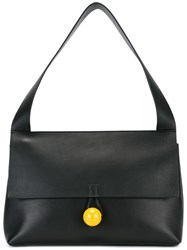 Corto Moltedo Medium 'Rose' Shoulder Bag Black