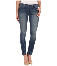 Dkny City Ultra Skinny In High Line Blue Wash High Line Blue Wash Women's Jeans