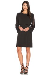 Bishop Young Lace Bell Sleeve Dress Black