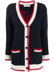 Valentino Button Up Knitted Cardigan 60