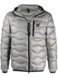 Blauer Quilted Zipped Jacket 60