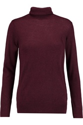 Dkny Knitted Turtleneck Sweater Red