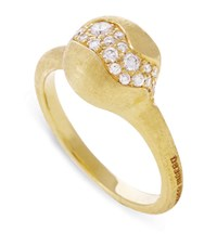 Marco Bicego Africa Gold Wave Ring White