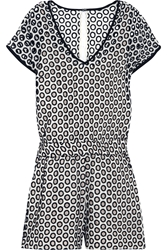 J.Crew Lizzie Broderie Anglaise Cotton Playsuit