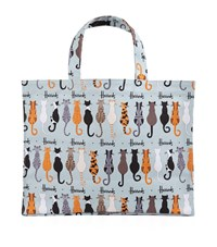 Harrods Curly Tails Large Shopper Bag Unisex