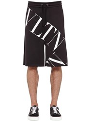 Valentino Printed Cotton Blend Jersey Shorts Array 0X5758f00