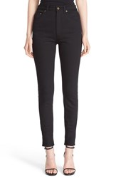 Saint Laurent Women's High Rise Skinny Jeans