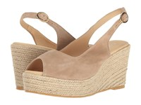 Cordani Evan Taupe Suede Women's Wedge Shoes