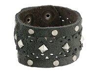 Leather Rock B769 Rough Brown Bracelet