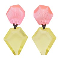 Monies Pink And Yellow Riley Earrings