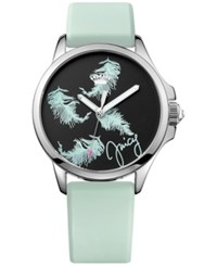Juicy Couture Women's Jetsetter Blue Silicone Strap Watch 38Mm 1901340