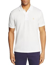 Brooks Brothers Slim Fit Pique Polo Shirt White