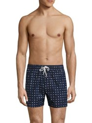 North Sails Icons Printed Volley Swim Shorts Multicolor