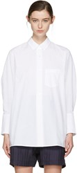 Acne Studios White Bai Shirt