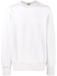 Yeezy Crew Neck Sweatshirt Men Cotton S Grey