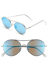 Electric Eyewear Women's Electric 'Huxley' 53Mm Round Sunglasses