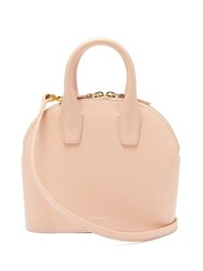 Mansur Gavriel Top Handle Mini Leather Bag Pink