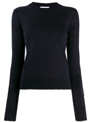 Roseanna Fine Knit Jumper Blue