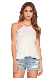 Dress Gallery Satine Tank White