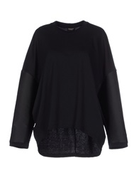 Giambattista Valli Sweatshirts Black