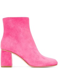 Red Valentino V Ankle Booties Pink
