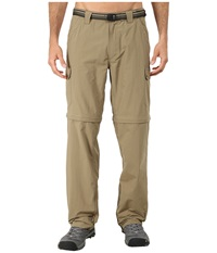 Exofficio Amphi Convertible Pant Walnut Men's Casual Pants Brown