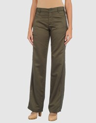 Coming Soon Trousers Casual Trousers Women Military Green