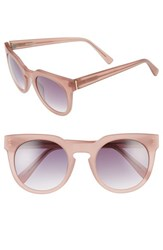 Derek Lam Women's 'Stella' 51Mm Round Sunglasses Matte Powder