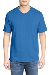Men's Tommy Bahama 'Portside Player' Pima Cotton T Shirt Palace Blue