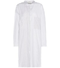 Acne Studios Cotton Shirt Dress White