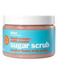 Bliss Blood Orange And White Pepper Scrub No Color