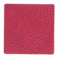 Lind Dna Hippo Square Drinks Coaster Raspberry