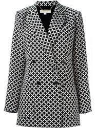 Michael Michael Kors Houndstooth Jacket Black