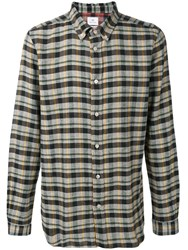 Paul Smith Ps Checked Shirt Brown