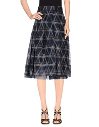 Pauw Skirts Knee Length Skirts Women Dark Blue
