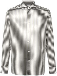 Ermenegildo Zegna Classic Striped Shirt Green