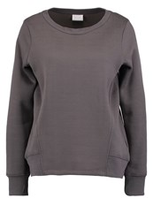 Vila Viludo Sweatshirt Granite Grey