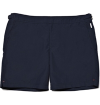 Orlebar Brown Bulldog Mid Length Swim Shorts Blue