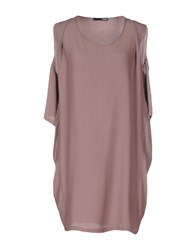 .Tessa Dresses Short Dresses Women Dove Grey