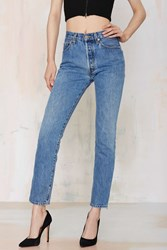 Nasty Gal After Party Vintage Levi's 501 Jeans