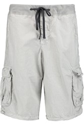 James Perse Washed Cotton Shorts White