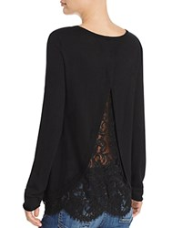 Joie Marianna Lace Back Sweater Bloomingdale's Exclusive Caviar