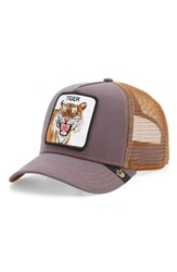 Goorin Bros. Brothers 'Eye Of The Tiger' Trucker Hat Brown
