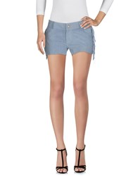 Miss June Shorts Slate Blue
