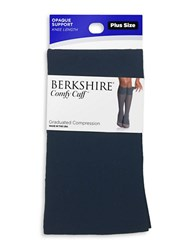 Berkshire Opaque Compression Trouser Socks Navy