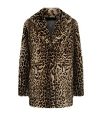 Lilly E Violetta Mink Fur Coat Beige