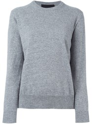 Jay Ahr Crew Neck Sweater Grey