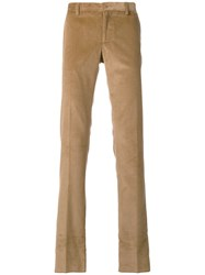 Etro Corduroy Trousers Men Cotton 54 Brown